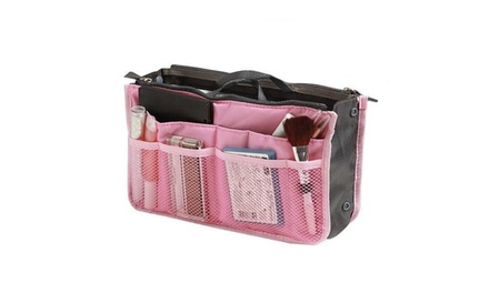 Slim Expandable Purse Organizing Insert Bag