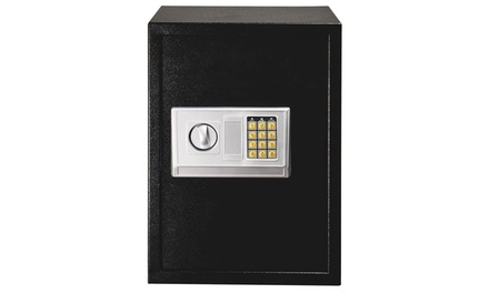 Home Use Electronic Digital Large Safe Security Box with keypad Black Was: $159.00 Now: $59.99
