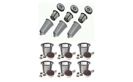 3 pk My K-Cup Style Reusable Filters for Keurig Plus 6 Extra Baskets 2ae16d40-1f1b-4f92-989c-fde70002a563
