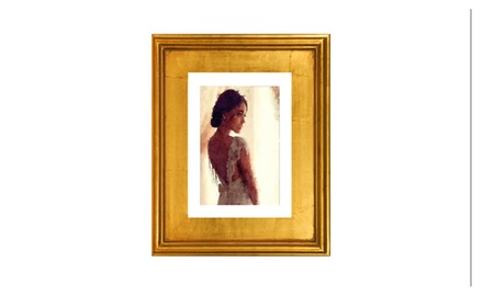 Love at first glance - Framed fine art