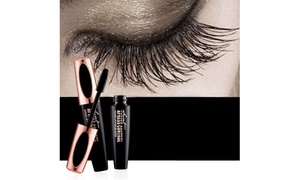 cbf110b8c8e 4D Silk Fiber Lash Mascara Makeup Mascara Eyelash Waterproof Curling  Lengthening