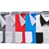 Berlioni Men's Dress Shirts Two-Tone Long Sleeved French Cuff S-L