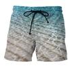 Men's Quick Dry Swim Board Shorts Printing Beach Shorts