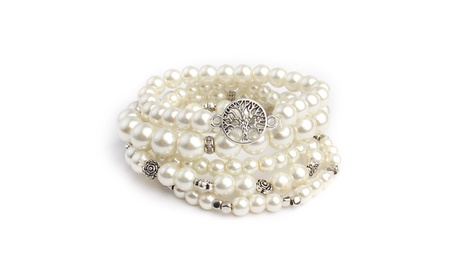 Pearl Stretch Bracelet Set 8c90e436-fdf5-4ea1-9646-f122a7208647