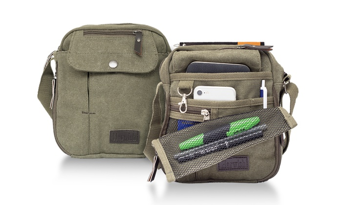 180e3b129a Multifunctional Canvas Traveling Bag