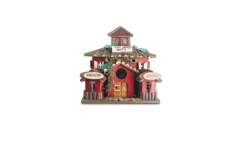 Eastwind Gifts 35146 Finch Valley Winery - Wood Bird House (Goods Outdoor Décor Bird Feeders & Baths) photo