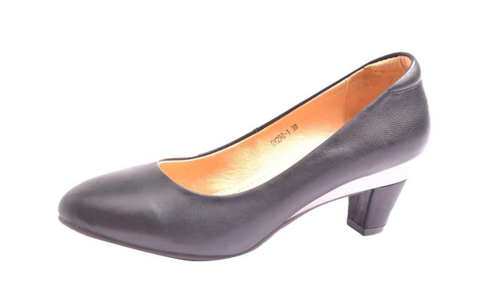 Women's Heels Solid Solid High Heels  - Black / US M 8.5