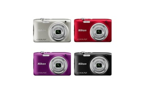 Nikon Coolpix A100 20.1MP 5X OPtical Zoom Digital Camera at The Teds Store, plus 6.0% Cash Back from Ebates.