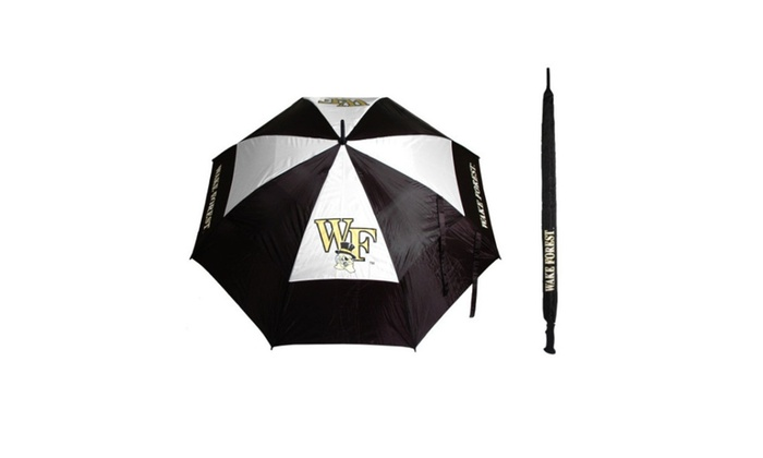 Team Golf 23869 Wake Forest University 62 in. Double Canopy Umbrella  sc 1 st  Groupon & Team Golf 23869 Wake Forest University 62 in. Double Canopy ...