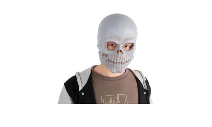 Black Grey Monster Halloween Mask