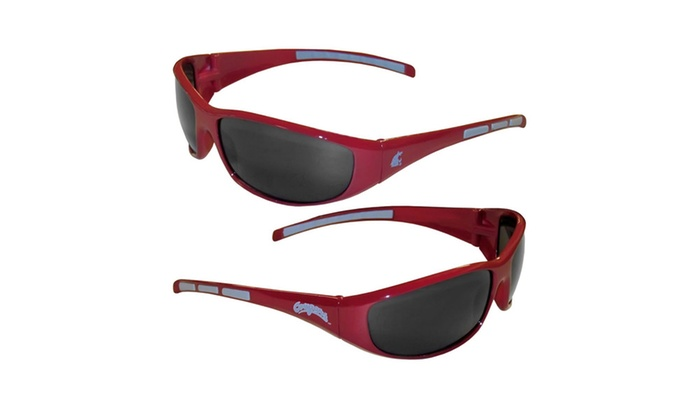 NCAA Washington State Cougars Wrap 3 Dot Sunglasses