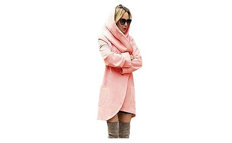 Women's New Fashion Winter Long Hooded Warm Outwear c23f08b2-01a2-4092-81cc-4606ce7f8047