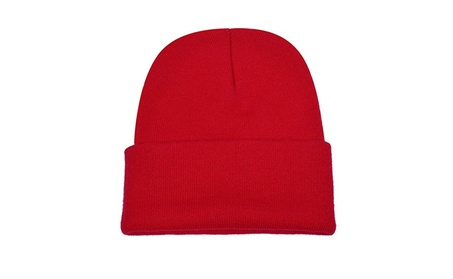 Unique Warm Winter Hat Knit Beanie Cap Cuff Beanie Hat Winter Hats 385c310d-f288-4e73-bbbe-d0befcf060ed