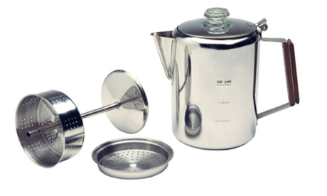 Texsport 9 Cup Stainless Percolator 0e22776c-3a78-45bc-910a-a95377ddb530