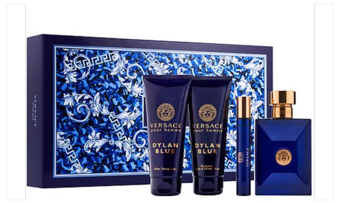 1e68f89e754 Versace Pour Homme 4-pc. Dylan Blue Set for Men