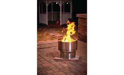 Shop Groupon Flame Genie INFERNO Wood Pellet Fire Pit