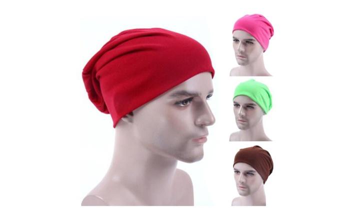 Men Hat Beanie in Fine Knit