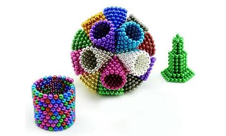 216pcs 5MM Buckyballs Magnet Magnetic DIY Balls Magic Cube Magnetic Spheres