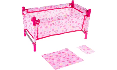 Hey! Play! Baby Doll Bed and Playpen for 15