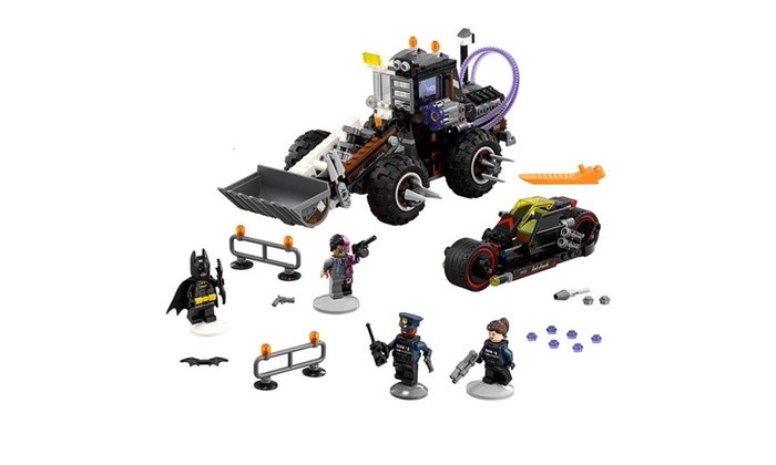 LEGO BATMAN MOVIE Two Face Double Demolition 70915 Building Kit ...
