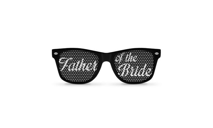 Father of Retro Party Sunglasses