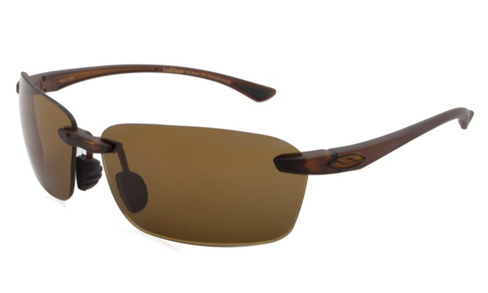 bdffdacee1 Smith Men s Sunglasses Trailblazer S - Frame  Dark Brown Lens  Brown  ChromaPop Polarchromic Polarized (S3)