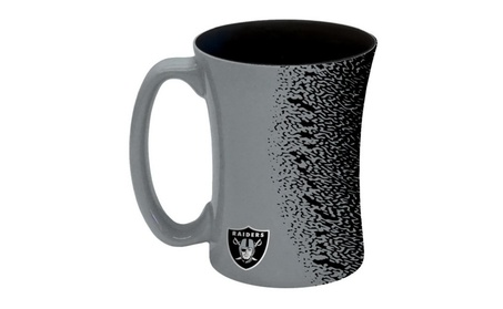 Oakland Raiders Coffee Mug - 14 oz Mocha 5f40c730-6c7a-450b-9d55-31389995a75f
