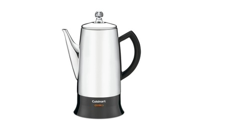Cuisinart 12-Cup Stainless-Steel Percolator, Black/Stainless a3cb0777-29bc-4cb1-adb3-deb3b07dd584