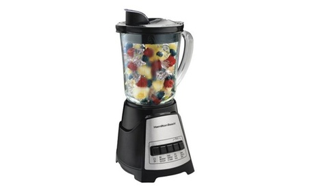 Hamilton Beach Power Elite Multi-Function Blender with Glass Jar photo