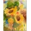 Sheila Golden Garden Sunflowrs Canvas Print