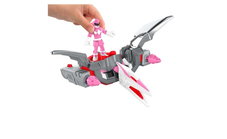 Fisher-Price Imaginext Power Rangers Pink Ranger & Pterodactyl Zord a962fe53-7bc5-4f48-af5e-129e3e87de63