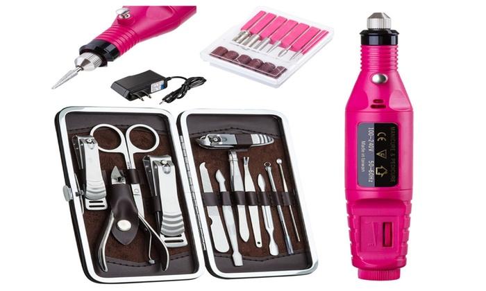 Professional Electric Manicure Pedicure Nail File Drill Machine Tool