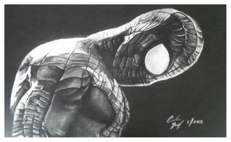 """The Amazing Spider-Man """"Spidey-Sense"""" Limited Edition Lithograph Print 8be4f72f-0a78-424e-8ac3-03033a0e4205"""