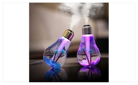 Glow Bulb Multi-Color LED Humidifier 29aa54b4-52f8-4fce-9677-39c2b7b4a559