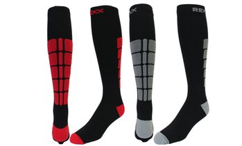 Rexx Performance & Recovery Unisex Knee-High Compression Socks (2-Pk.)