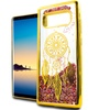 XL Samsung Note 8 N950 Chrome Glitter Motion Dream Case