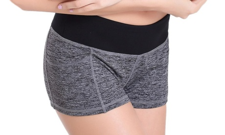Women Yoga And Workout Shorts b4dc392b-1475-42f9-8ba2-230754b1cf9c