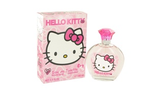 Hello Kitty By Sanrio 3.4oz/100ml Edt Spray For Girls New In Box