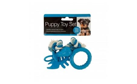 Puppy Teeth-Cleaning Toy Set fda600fd-94ff-44f5-baeb-00f9b4201ce1