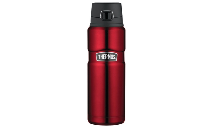 Focus Camera: Thermos Stainless King 24 Ounce Drink Bottle, Cranberry