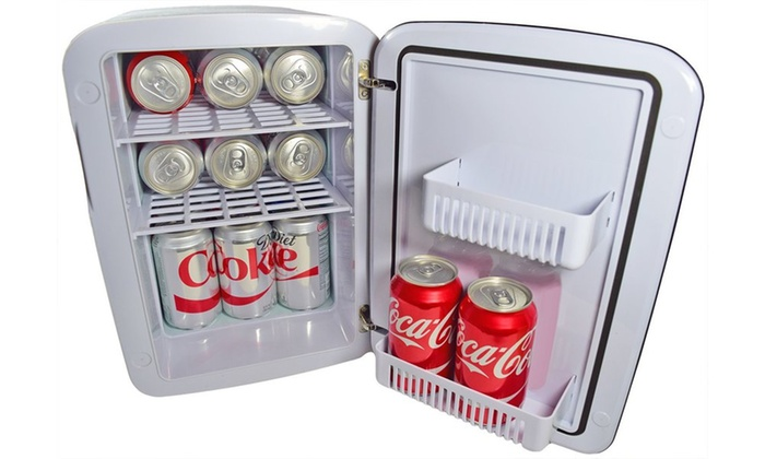 Cooluli Mini Fridge Electric Cooler and Warmer | Groupon