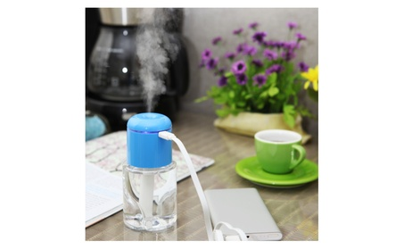 Portable Humidifier with USB, compact size for car, room, trip, desk 140670a6-0a56-43d2-8d95-dfcfa0e30525