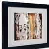 Yale Gurney 'Pop Art Madonna Meatpacking' Matted Black Framed Art
