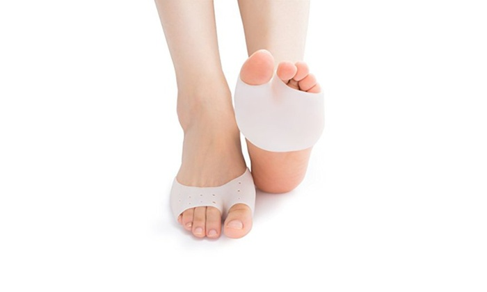 Up To 64 Off On Metatarsal Foot Cushion 2 Pack Groupon Goods
