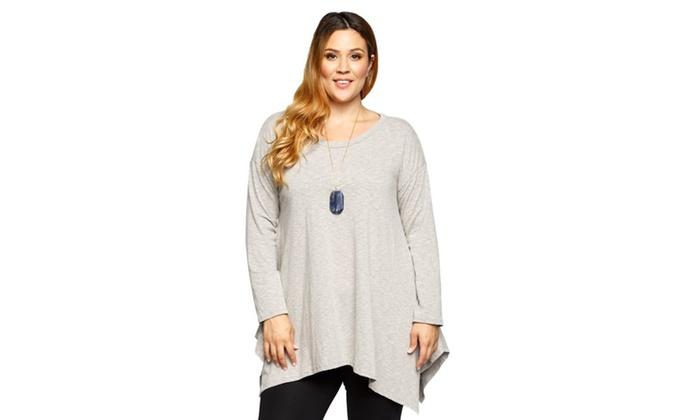 4c47e04df8b Up To 69% Off on Xehar Women's Plus Size Casua... | Groupon Goods