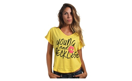 Young & Reckless Crop Top