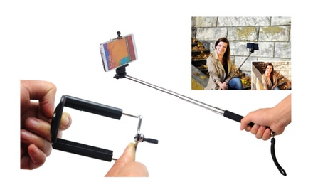 Extendable Selfie Monopod for Cell Phones