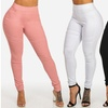 Women's High-Waist Skinny Moto Pants in Junior Sizes