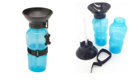Pet Dog Puppy Auto Mug Drinking Water Bottle Cup 4f30fbe7-69bb-4bc9-b42e-4dee95bc273a