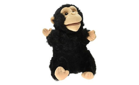 Sunny Toys NP8008S 12 in. Chimp, Animal Puppet 48a4ed4f-2d48-4507-873a-ea6e495f2248